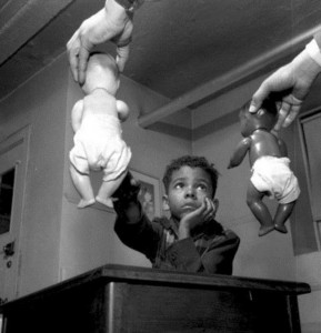 A crucial argument in the Brown vs. Board of Education decision rested on experiments conducted by Kenneth and Mamie Clark where Black children were shown to identify themselves with white dolls.